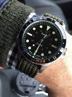 Timex Navi Harbor Watch TW2R73300LG OD Green Strap Ex+ Condition