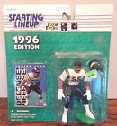 Starting Lineup 1996 NFL Junior Seau San Diego Chargers figurine and card