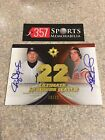 2007 ULTIMATE COLLECTION NUMBERS MATCH ROGER CLEMENS JIM PALMER AUTOGRAPH #D 22