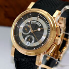 Breguet Marine Chronograph 5827 Black Dial 18K Rose Gold 42mm Box Papers