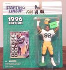 Starting Lineup 1996 NFL Reggie White Green Bay Packers figurine and card