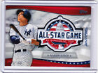 Aaron Judge Yankees 2018 All-Star Game Commemorative Patch Topps Fanfest 035 100