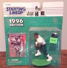 Starting Lineup 1996 NFL Ricky Waters Philadelphia Eagles figurine and card