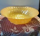 Vintage 1950s Peach Lustre Fire King Serving Bowl 8 1/2