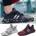 Mens Outdoors Sneakers Breathable Casual Sports Athletic Running Fitness Shoes