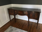 Antique Buffet Sideboard Server Cabinet with Inlaid wood details