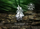 Oak Leaf Pendant in Pewter Bronze or Silver  Viking Celtic Nature Jewelry