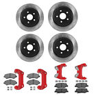 G2 Axle  Gear FRONT REAR Big Brake Kit 07 18 FOR Jeep Wrangler  unlimited JK