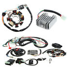 125-250CC Motorcycle Engine Quad Wire Harness+Twin Plug CDI+Rectifier+Spark Plug