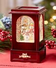 Nostalgic Holiday Winter Light And Motion Wooden Keepsakes Display Decoration