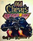 ICONIC CHEVY 50s Chevrolet Hot Rat Rod custom chop top NOS vtg t Shirt Iron On