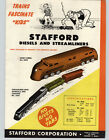 1947 PAPER AD Stafford Toy Corp Diesel Streamliner Diesel Toy Train Set