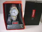 Timex 2 Tone Ladies Easy Reader Classic Indiglo Expansion Band Watch 2P78700