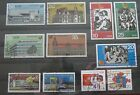 DDR Briefmarken 1982 4 x Satz Dt.Post,FDGB-Kongress,Messe + Pioniertreffen Gest.