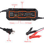 6v12v 3a5a Automatic Smart Battery Charger For Car Truck Motorcycle Boat Agm