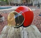 Vntg1974 Bell RT Helmet /Tinted Bubble Shield Size Lg VGC Motor Cycle Motocross