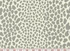 Silver Spots and Hot Calender Upholstery Fabric by P Kaufmann Limelight CL Silvr