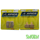 Apico Trials 325 Front 173 Rear Brake Pads Gas Gas TXT Pro 125-300 14-18 Braktec
