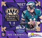 2017 Panini Crown Royale NFL Football EXCLUSIVE Factory Sealed Retail Box with T