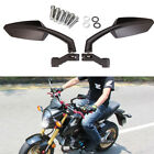 8/10mm Screw Side Rear View Mirrors For Motorcycle Bicycle Honda Grom MSX-125 MT