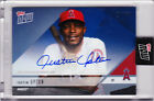 Justin Upton Autograph Angels Road Opening Day 2018 TOPPS NOW OD-170B AUTO 24 49