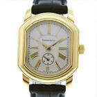 AUTHENTIC TIFFANY&Co. Smoseco Mark Coupe Watches gold/black 18K Yellow Gol...