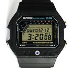 VINTAGE NEW OLD STOCK UNWORN MENS CASIO TS 1200 MODULE 515 THERMOMETER