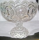 stars pedestal candy/nut/fruit compote dish bowl
