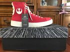PO ZU Star Wars Resistance Red High Tops Poe Dameron Sneakers Size 41