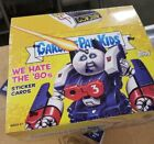 We hate the 80s TOPPS GARBAGE PAIL KIDS FACTORY SEALED HOBBY BOX 2018