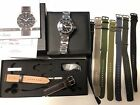 SINN 104ST.SA Pilot Military 41M Automatic Stainless Band & Unused Leather Strap