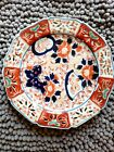 Rare Antique Japanese Imari Porcelain Charger, Floral and Butterflies 1900
