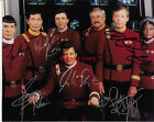 Star Trek Original Cast Signed Autographed 8x10 Color Photo by 7 REPRINT