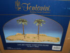 RARE ROMAN FONTANINI 5 PC SET KINGS OASIS WITH PALMS NEW IN BOX FOR 5 VILLAGE
