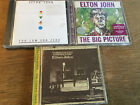 Elton John [3 CD Alben] The Big Picture + Tumbleweed Connection + Too Low for Ze
