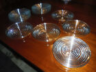 ANCHOR HOCKING MANHATTAN 8 INCH PLATES SET OF 14 MINT CONDITION