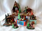 Mixed Lot of 7 Vintage Plastic Christmas Nativity Hong Kong 2 w orig box
