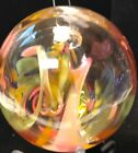 Witch Or Spirit Ball 3inch Hand Blown Designer And Artisan Glass OOAK NEW