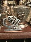 Antique Vintage Style Solid Silver Islamic Arabic Persian Religion Calligraphy