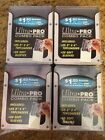 4 packs of Ultra Pro Combo Pack Card Sleeves + 6 Lg top loaders + 1 hard case