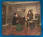 Perfect for a Collector! PAR Pictures Wooden Jigsaw Puzzle - The Gossips
