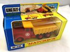 KING SIZE MATCHBOX LESNEY K 19 SCAMMELL TIPPER TRUCK MIB BOX
