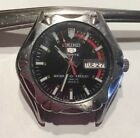 Seiko 5 Sports Automatic 7S36-00A0-A4  for *PARTS or REPAIR* 100 Meters *WORKS*