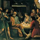 Wall Decal entitled Nativity and the Adoration of the Shepherds by Giuseppe