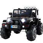 12V Battery Kids Ride on Cars Electric Power Remote Control 4 Speed Jeep Red