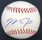Mike Trout Rookie Signature Signed Baseball Online Authentics Angels