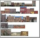 500 N scale 29 COMMERCIAL BUILDING SET WITHOUT FOAM CORE FREE SHIPPING