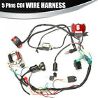 ATV 5 Pins CDI Wiring Harness Fit 50cc 125cc Chinese Electric start Quads