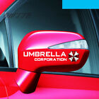 2pcs Umbrella Corporation Sticker From Resident Evil Mirrors For Bmw Volkswagen