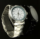 Lifemax Chronograph Atomic Ice White Face Talking Watch Blind, Partially Sighted
